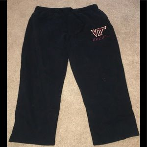 Virginia Tech Black Sweatpants Men's 2XL